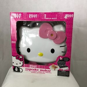 Hello Kitty Cupcake Maker Nonstick Cool Touch Hand